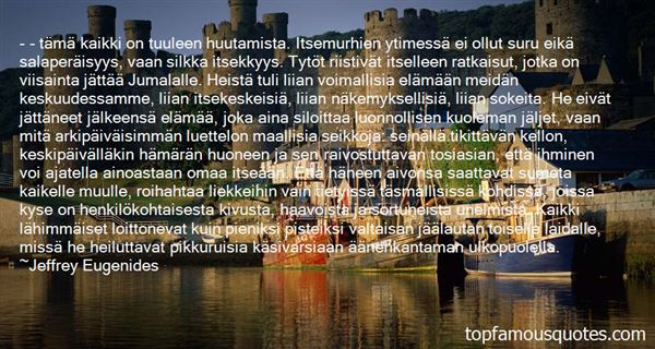 Quotes About Jumala