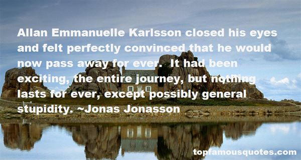 Quotes About Karlsson