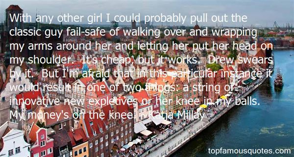 Quotes About Knee