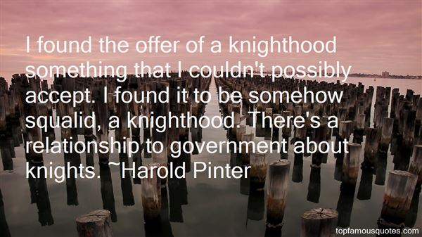Quotes About Knighthood