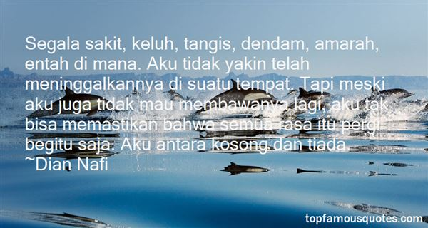 Quotes About Kosong