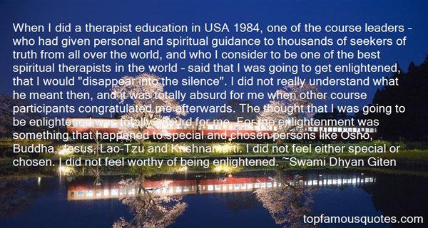 Quotes About Krishnamurti