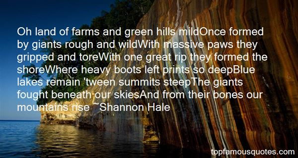 Quotes About Lakes And Mountains