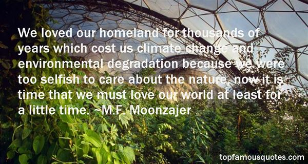 Quotes About Land Degradation