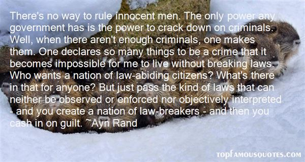 Quotes About Law Breakers