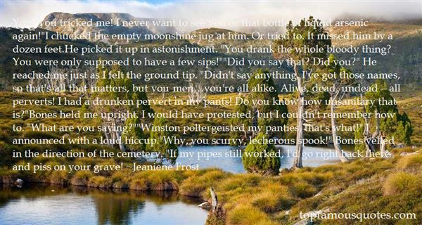 Quotes About Lecherous