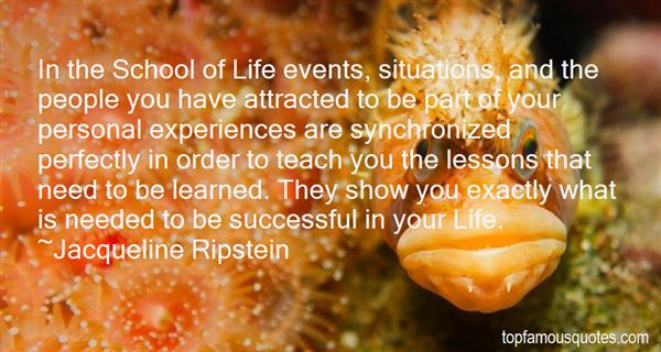 Quotes About Lessons Learned In Life