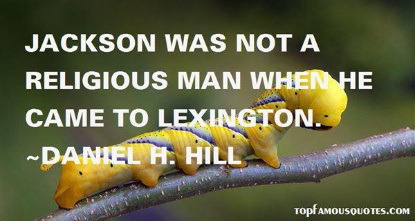 Quotes About Lexington