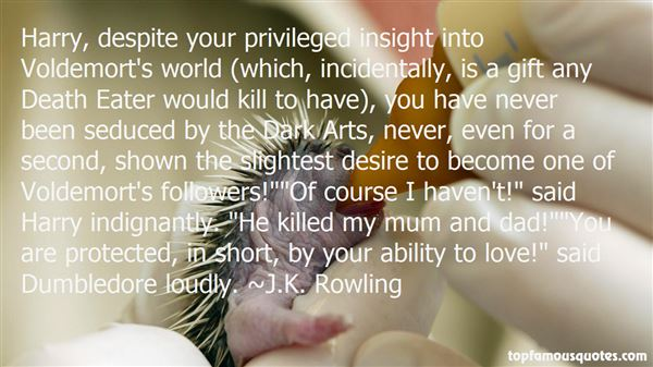 Quotes About Light Dumbledore