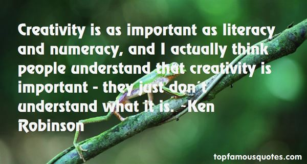 Quotes About Literacy And Numeracy