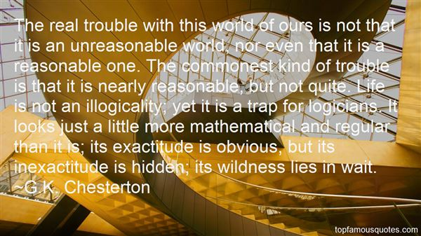 Quotes About Logicality