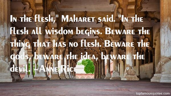 Quotes About Maharet