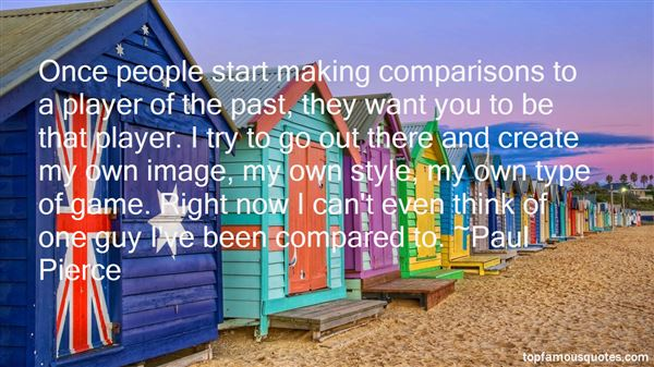 Quotes About Making Comparisons