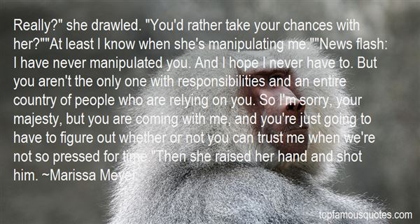 Quotes About Manipulate