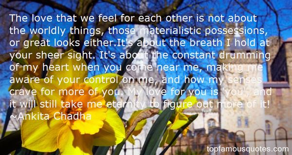 Quotes About Materialistic Possessions