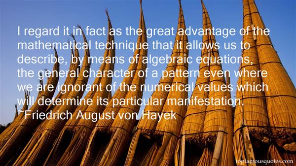 Quotes About Mathematical Algebra