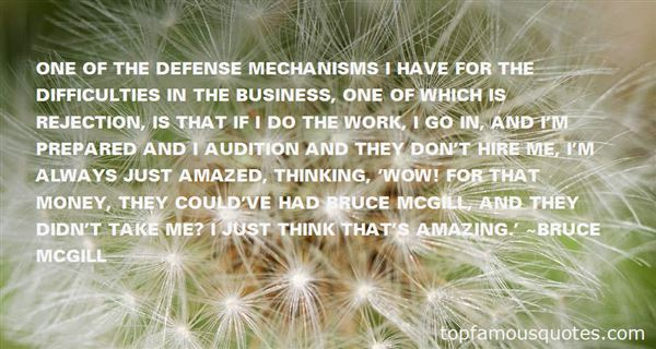 Quotes About Mechanisms