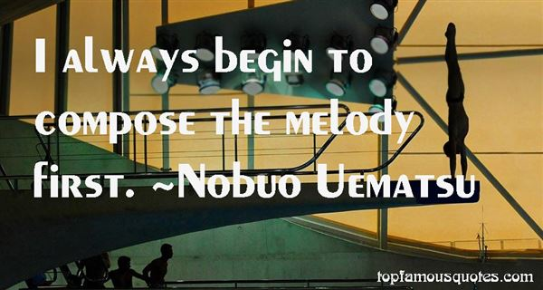 Quotes About Melody