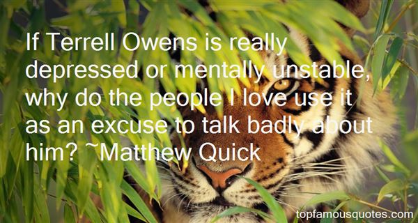 Quotes About Mentally Unstable