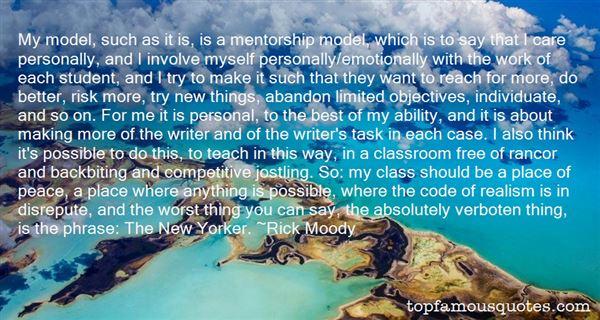 Quotes About Mentorship