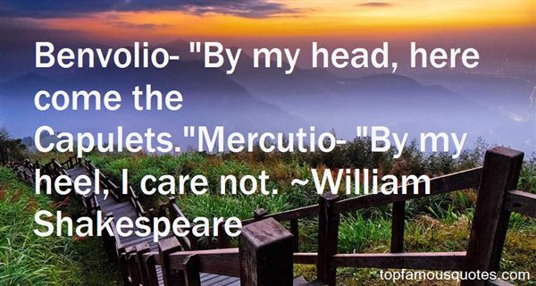 Quotes About Mercutio
