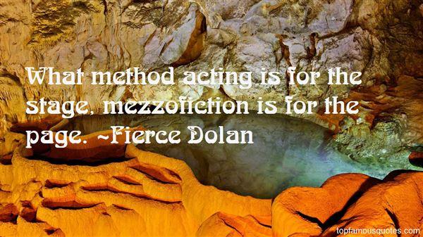 Quotes About Mezzofiction