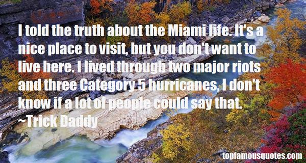 Quotes About Miami Hurricanes