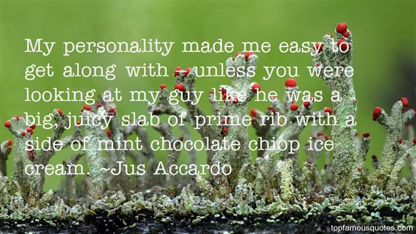 Quotes About Mint Chocolate