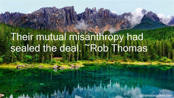 Quotes About Misanthropy