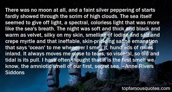 Quotes About Moon And Sea