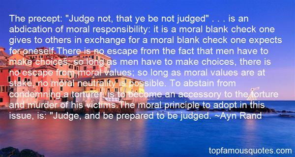 Quotes About Moral Responsibility