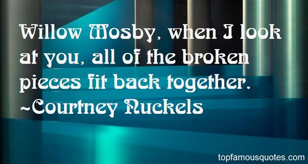 Quotes About Mosby