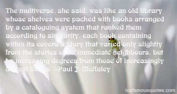 Quotes About Multiverse