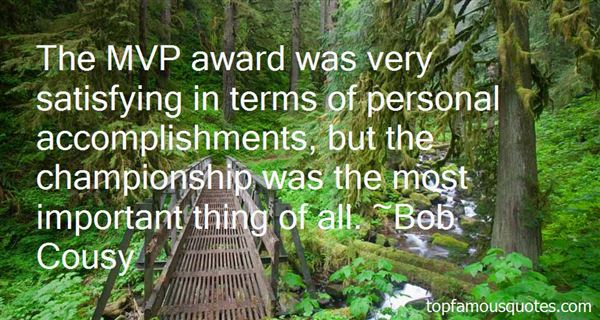 Quotes About Mvp