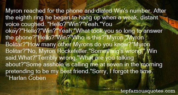 Quotes About Myron
