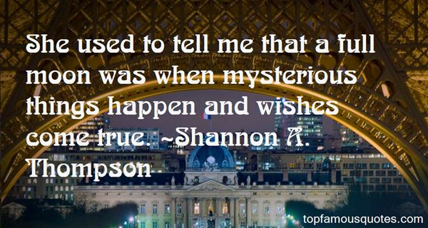 Quotes About Mysterious Things