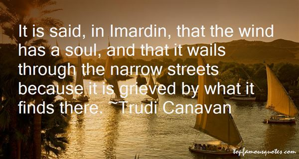 Quotes About Narrow Streets