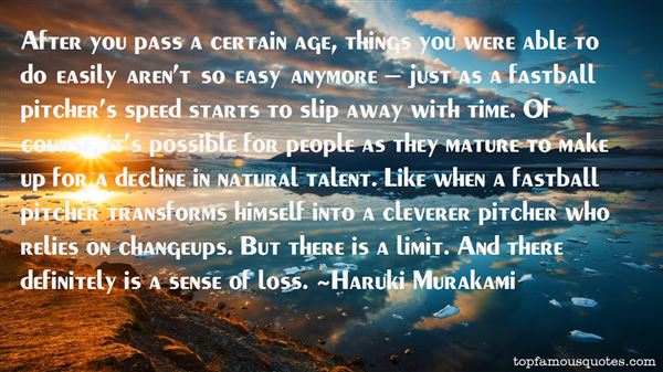 Quotes About Natural Talent