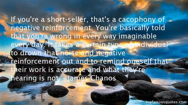 Quotes About Negative Reinforcement