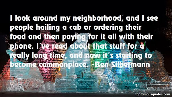 Quotes About Neighborhood