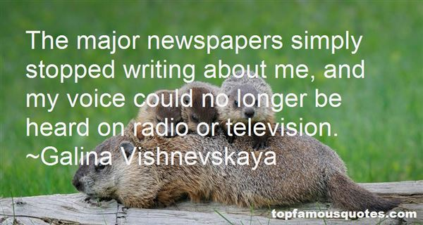 Quotes About Newspapers