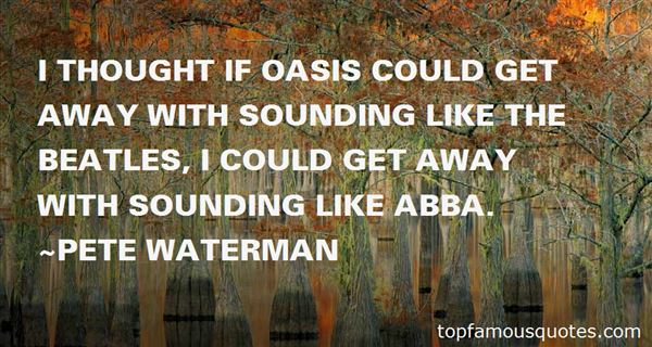 Quotes About Oasis The Beatles