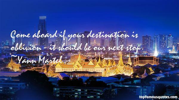 Quotes About Oblivion