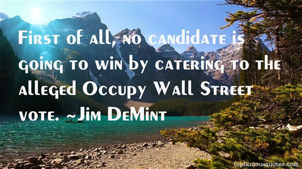 Quotes About Occupy