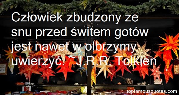 Quotes About Olbrzym