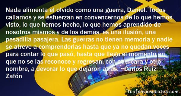 Quotes About Olvido