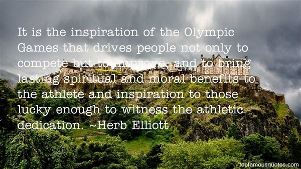 Quotes About Olympic Spirit
