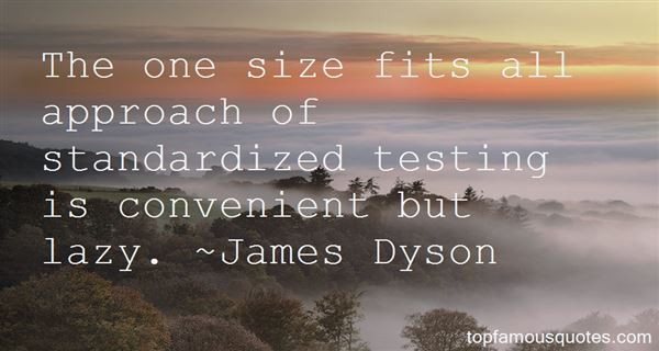 Quotes About One Size Fits All