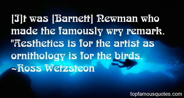 Quotes About Ornithology