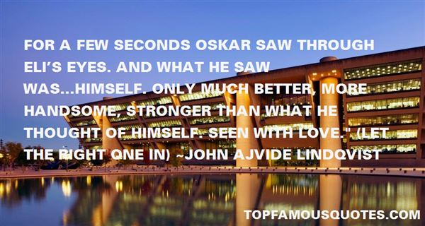 Quotes About Oskar